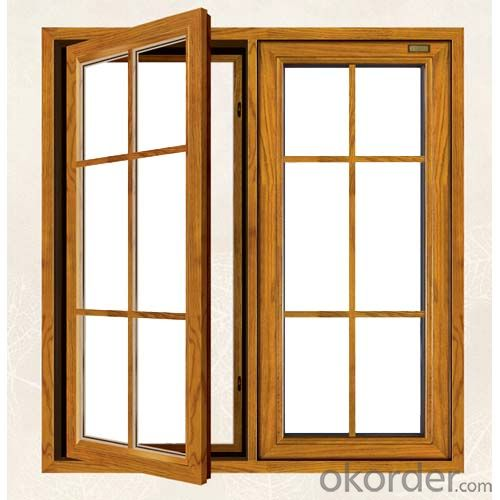 Aluminum Clad Wood Windows with Good Quality
