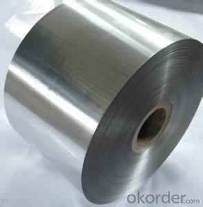 Aluminum foil for lidding
