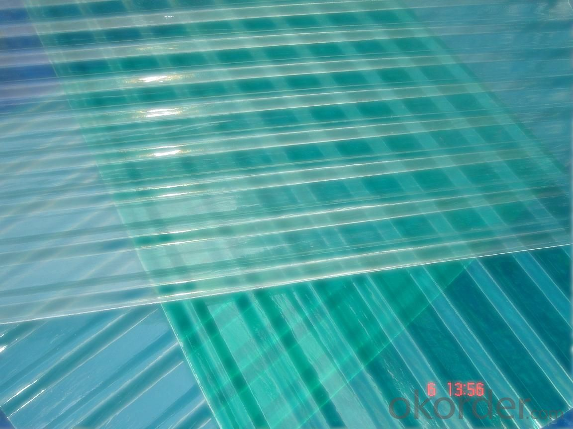 FIBER REINFORCE PLASTIC Transparancy Skylight Panel