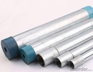 Hot dipping galvanized steel tube