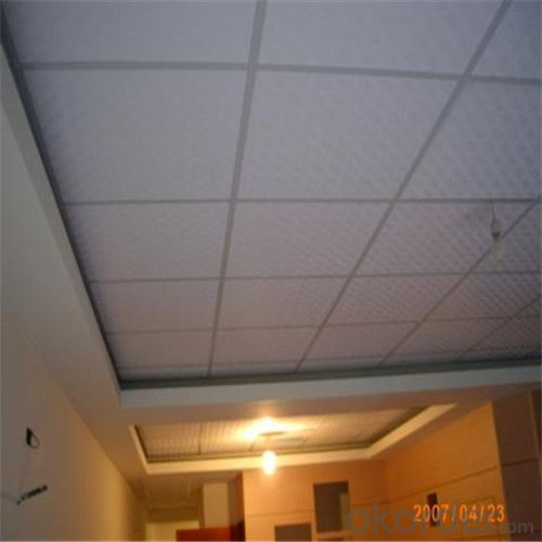 High Quality Gypsum Ceiling Tiles 8mm Texture 608