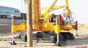 FANGYUAN Electric Crawler Pile Driver ZSW90