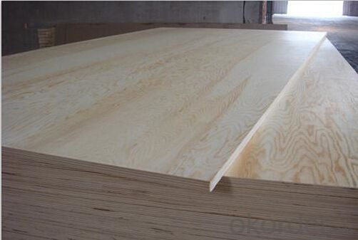 Pine Wood Veneer Face Plywood Thick Board
