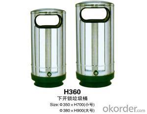 H360 By unlocking the trash