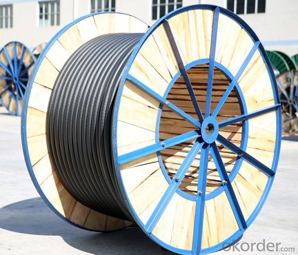 XLPE insulated and PVC sheathed power cable 0.6/1kV (SWA)
