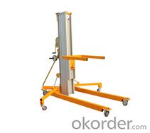 Moveable material lifting machine series