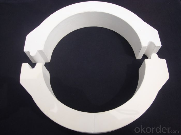 Refractory Quartz Floating Ring-Half