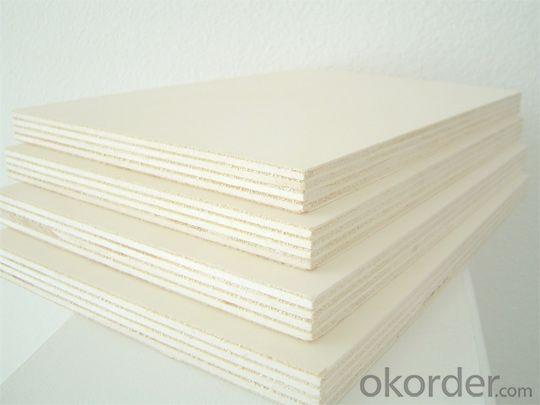 Poplar Wood Veneer Face  Plywood Thick Board