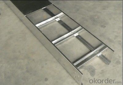 Ladder galvanized cable tray