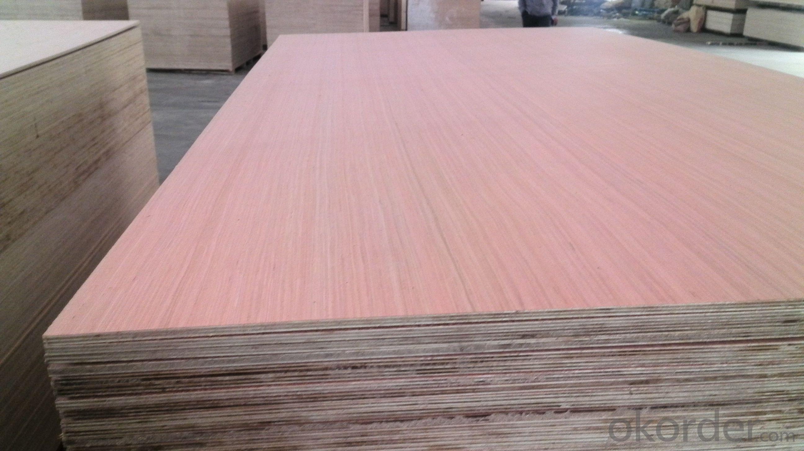 Bintangor Wood Veneer Face  Plywood Thick Board