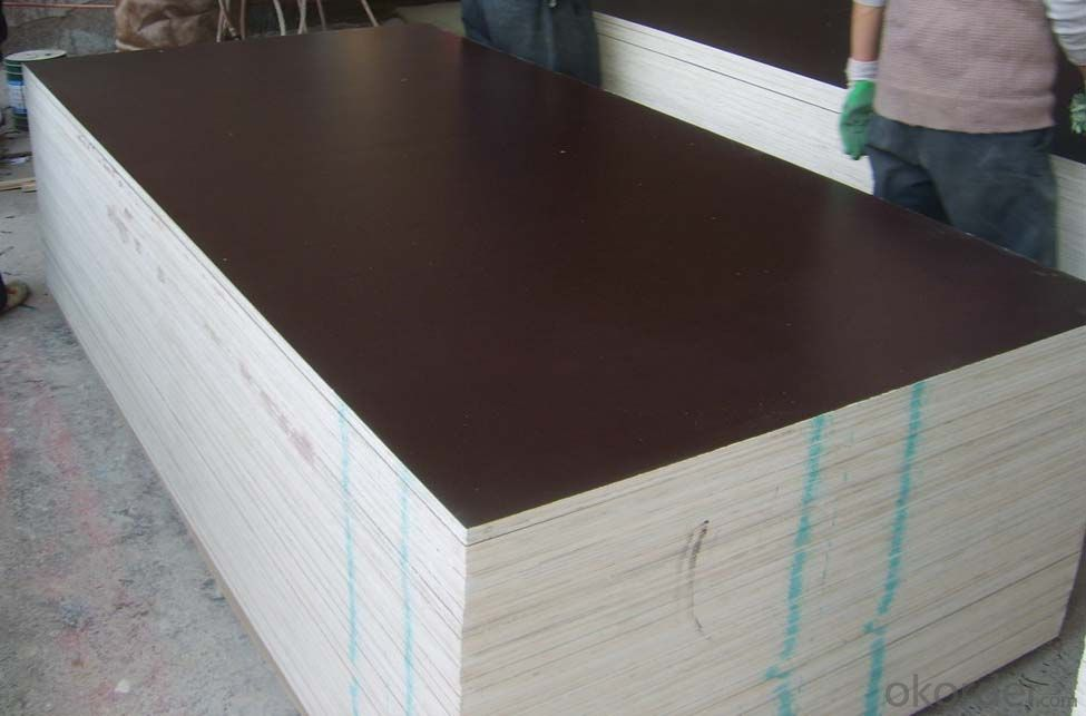 Black Film Faced Plywood  Two Times Hot Presses WBP Glue