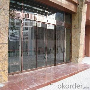 Auto Sliding Glass Door