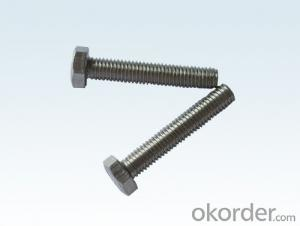 Bolt M10*160 HEX  CARBON STEEL HALF THREAD