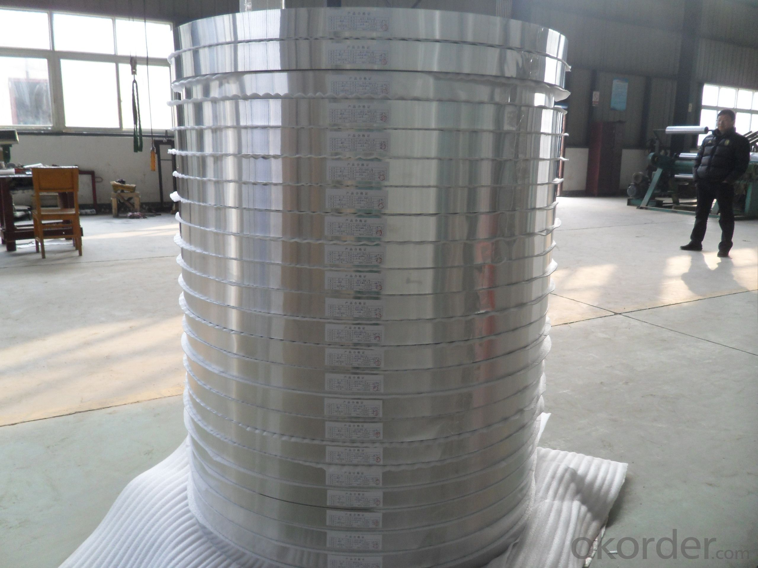 Aluminum  Strip for Aluminum Plastic Pipe