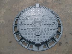 Heavy cast iron manhole covers