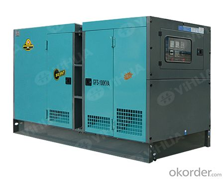 Cummins 20-300KW Silent Type Diesel Generator Set
