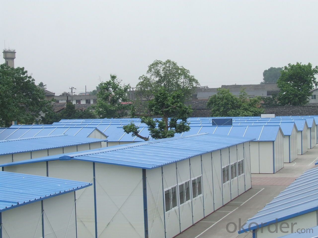 K-type Single-Floor Trio Prefabricated House