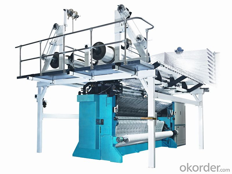 TERRY WARP KNITTING MACHINE GE272S SERIES