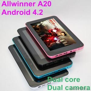 Tablet PC 7inch with Dual Core CPU 2 Cameras