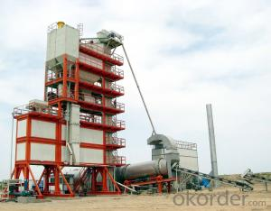 Asphalt Batching Plant With Capacity of 200t/h