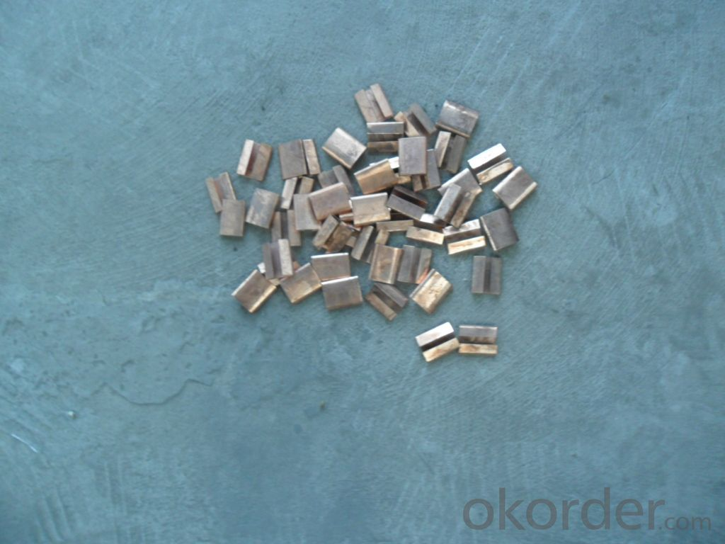 Copper Packing Steel Straping Buckle Commen Nails Roofing Nails
