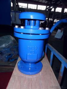 Ductile Iron Single  Ball Air Valves
