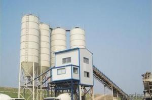 FANGYUAN Belt Conveyor Concrete Mixing Plant HZS120