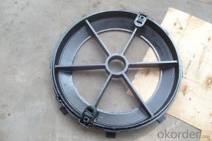 Cement cast iron manhole covers