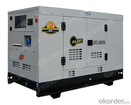 ISUZU 16-38KW Soundproof  Diesel Generator Sets