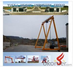 MH Electric Single-girder Gantry Crane