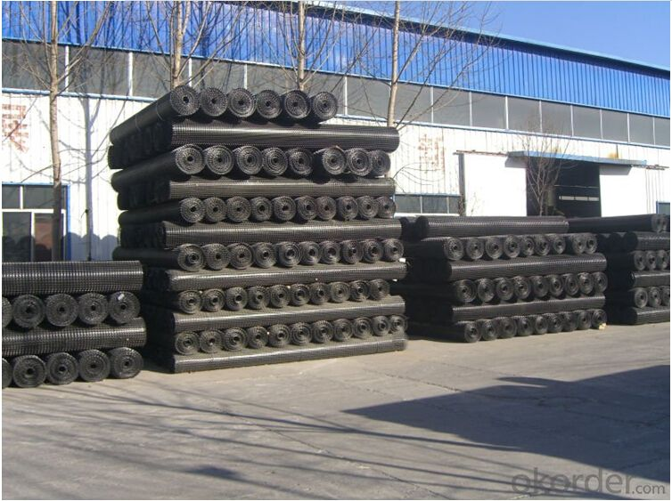 PP Biaxial Geogrid 3.95*50m/Roll with High Tensile Strength for Reinforcement Consturction
