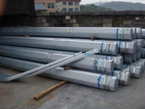 Galvanized iron pipe for water