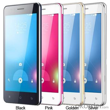 IPS Screen 5.0inch  Mtk6572 Dual Core Android Smart Mobile Phone