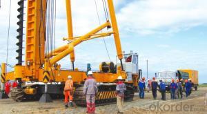 FANGYUAN Electric Crawler Pile Driver JZL90