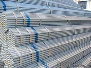 Hot dipped galvanized welded steel pipe for oil