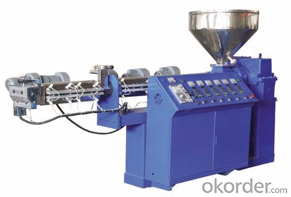 PP PE film granulating production line, PP PE film granulating machine, single stage granulating machine