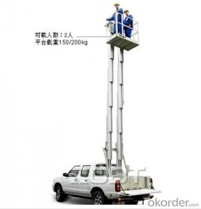 Vehicle-mounted Mast platform