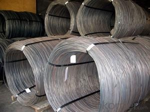 SAE1008,SAE1018 steel wire rod for drawing wire mesh