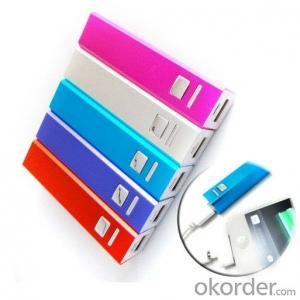 Portable power bank 2600mah