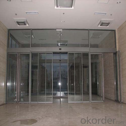 Automatic Sliding Glass Door