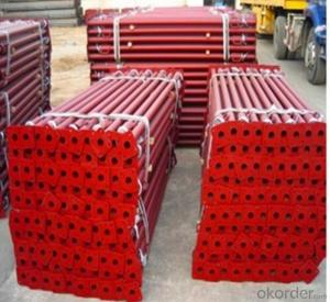 Scaffolding pipe support system steel