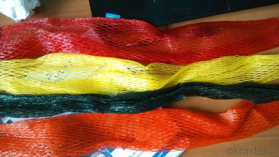 Mesh bag for vegetable weave tape filament