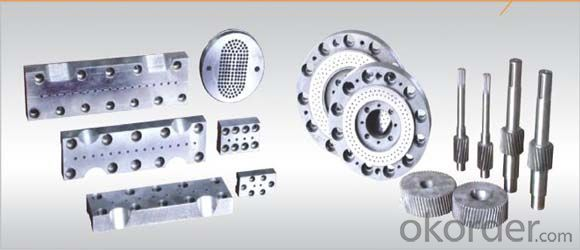 plastic extruder die/moulds/extruder thermal cutting die head
