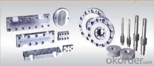 plastic extruder die/moulds/extruder thermal cutting die head