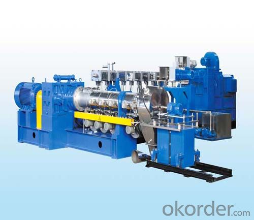 Two Stage Plastic granule Pelletizing Line