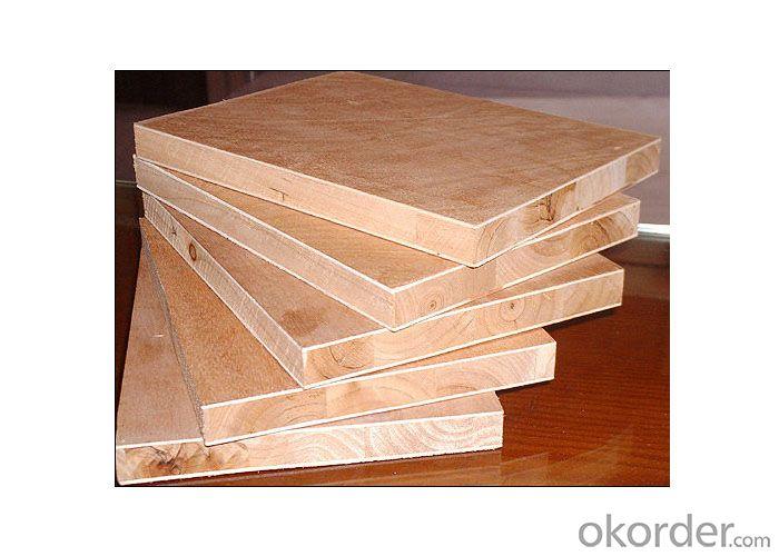Bintangor Wood Veneer Face block Board Falcata Core