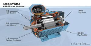 ABB Original AC DC HIgh Efficiency Motor QABP Series