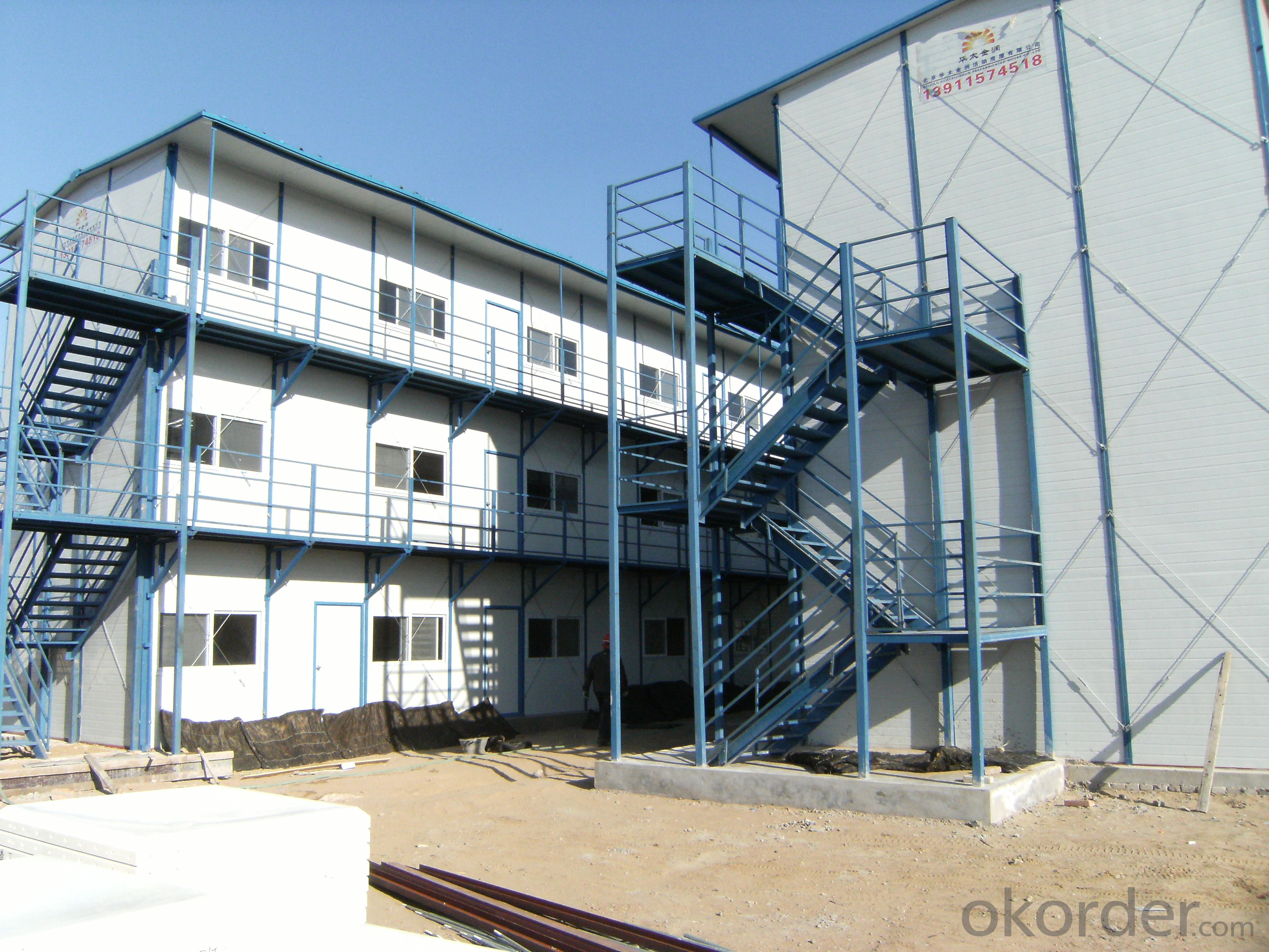 K-type Three-Floor Trio Prefabricated House