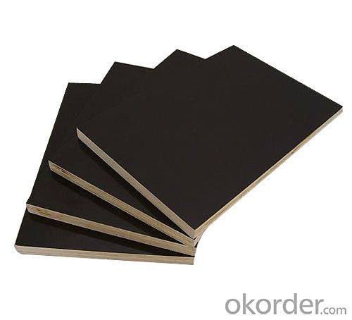 Black Film Faced Plywood Hardwood Core for Concrete Form Work