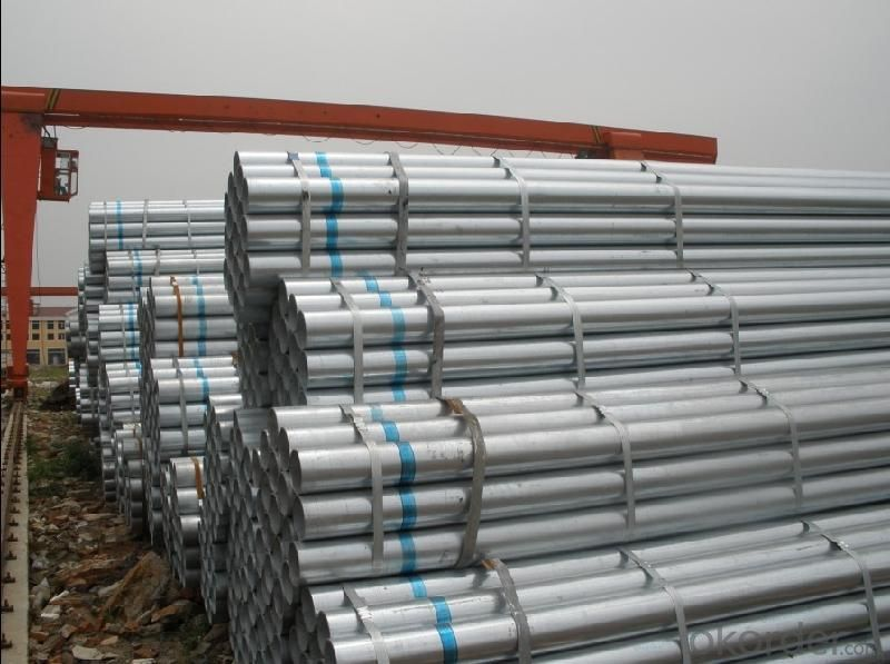BS1139  WELDED GALVANIZED PIPE